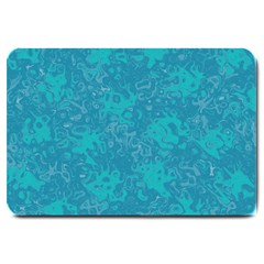 Abstraction Large Doormat  by Valentinaart