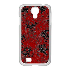 Abstraction Samsung Galaxy S4 I9500/ I9505 Case (white) by Valentinaart