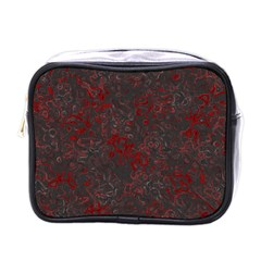 Abstraction Mini Toiletries Bags by Valentinaart