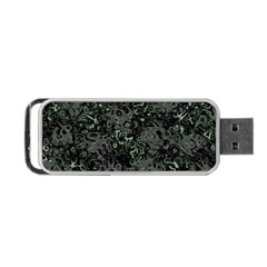 Abstraction Portable Usb Flash (two Sides) by Valentinaart