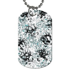 Abstraction Dog Tag (two Sides) by Valentinaart