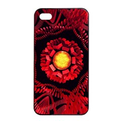 The Sun Is The Center Apple Iphone 4/4s Seamless Case (black) by linceazul
