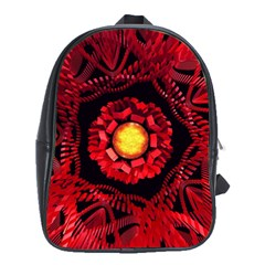 The Sun Is The Center School Bags (xl)  by linceazul
