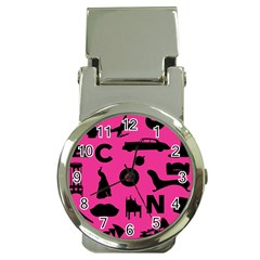 Car Plan Pinkcover Outside Money Clip Watches by Mariart
