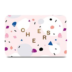 Cheers Polkadot Circle Color Rainbow Plate Mats by Mariart