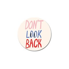 Don t Look Back Big Eye Pink Red Blue Sexy Golf Ball Marker (10 Pack) by Mariart
