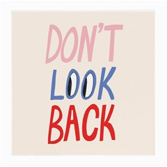 Don t Look Back Big Eye Pink Red Blue Sexy Medium Glasses Cloth by Mariart