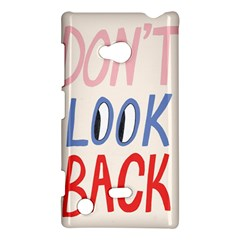 Don t Look Back Big Eye Pink Red Blue Sexy Nokia Lumia 720 by Mariart