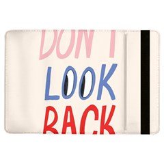 Don t Look Back Big Eye Pink Red Blue Sexy Ipad Air Flip by Mariart