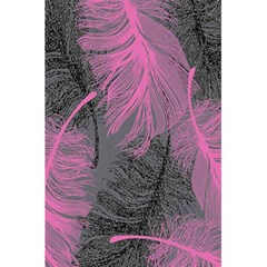 Feathers Quill Pink Grey 5 5  X 8 5  Notebooks by Mariart