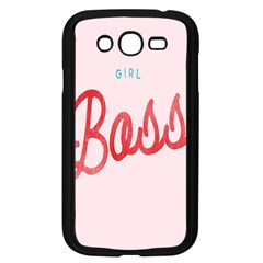 Girl Boss Pink Red Blue Sexy Samsung Galaxy Grand Duos I9082 Case (black) by Mariart
