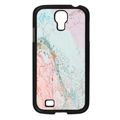 Geode Crystal Pink Blue Samsung Galaxy S4 I9500/ I9505 Case (black) by Mariart
