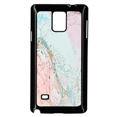 Geode Crystal Pink Blue Samsung Galaxy Note 4 Case (black)