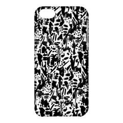 Deskjet Ink Splatter Black Spot Apple Iphone 5c Hardshell Case by Mariart