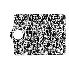 Deskjet Ink Splatter Black Spot Kindle Fire Hd (2013) Flip 360 Case by Mariart