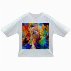 Rainbow Color Splash Infant/toddler T Shirts by Mariart