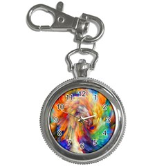 Rainbow Color Splash Key Chain Watches by Mariart