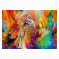 Rainbow Color Splash Large Glasses Cloth (2 Side) by Mariart
