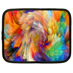 Rainbow Color Splash Netbook Case (xxl)  by Mariart