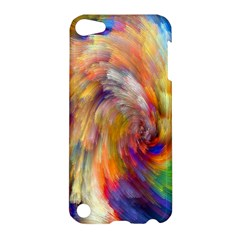 Rainbow Color Splash Apple Ipod Touch 5 Hardshell Case by Mariart