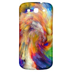 Rainbow Color Splash Samsung Galaxy S3 S Iii Classic Hardshell Back Case by Mariart