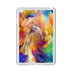 Rainbow Color Splash Ipad Mini 2 Enamel Coated Cases by Mariart