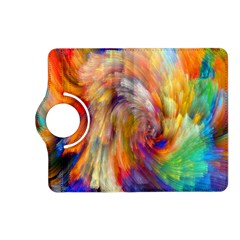 Rainbow Color Splash Kindle Fire Hd (2013) Flip 360 Case by Mariart