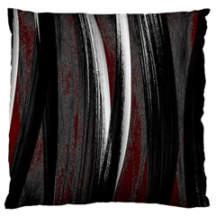 Abstraction Large Cushion Case (one Side) by Valentinaart
