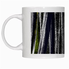 Abstraction White Mugs by Valentinaart