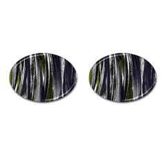 Abstraction Cufflinks (oval) by Valentinaart