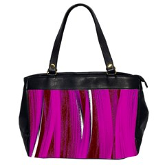 Abstraction Office Handbags (2 Sides)  by Valentinaart