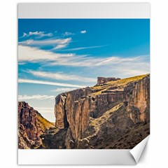 Rocky Mountains Patagonia Landscape   Santa Cruz   Argentina Canvas 16  X 20   by dflcprints