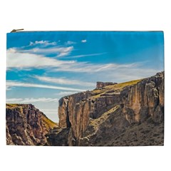 Rocky Mountains Patagonia Landscape   Santa Cruz   Argentina Cosmetic Bag (xxl)  by dflcprints