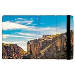 Rocky Mountains Patagonia Landscape   Santa Cruz   Argentina Apple Ipad 3/4 Flip Case by dflcprints
