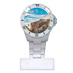 Rocky Mountains Patagonia Landscape   Santa Cruz   Argentina Plastic Nurses Watch by dflcprints