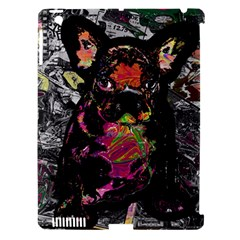 Bulldog Apple Ipad 3/4 Hardshell Case (compatible With Smart Cover) by Valentinaart