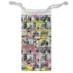 Comic Book  Jewelry Bag by Valentinaart