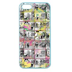 Comic Book  Apple Seamless Iphone 5 Case (color) by Valentinaart