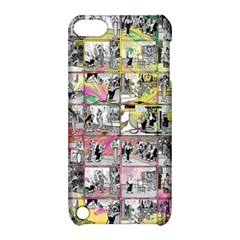 Comic Book  Apple Ipod Touch 5 Hardshell Case With Stand by Valentinaart