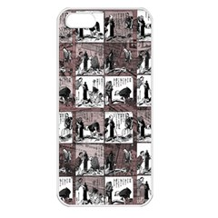 Comic Book  Apple Iphone 5 Seamless Case (white) by Valentinaart