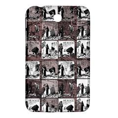Comic Book  Samsung Galaxy Tab 3 (7 ) P3200 Hardshell Case  by Valentinaart