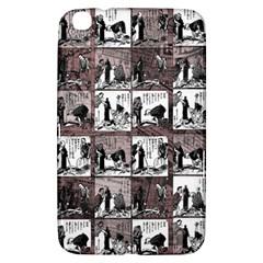 Comic Book  Samsung Galaxy Tab 3 (8 ) T3100 Hardshell Case  by Valentinaart