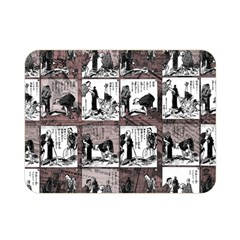 Comic Book  Double Sided Flano Blanket (mini)  by Valentinaart