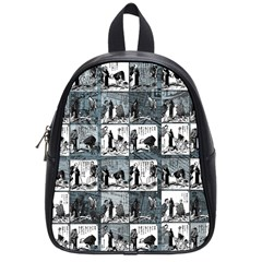 Comic Book  School Bags (small)  by Valentinaart