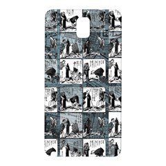 Comic Book  Samsung Galaxy Note 3 N9005 Hardshell Back Case by Valentinaart