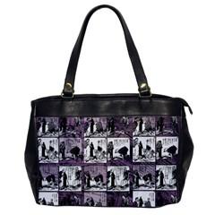 Comic Book  Office Handbags by Valentinaart