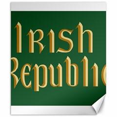 The Irish Republic Flag (1916, 1919 1922) Canvas 20  X 24   by abbeyz71