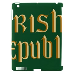 The Irish Republic Flag (1916, 1919 1922) Apple Ipad 3/4 Hardshell Case (compatible With Smart Cover) by abbeyz71