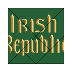The Irish Republic Flag (1916, 1919 1922) Acrylic Tangram Puzzle (6  X 6 ) by abbeyz71
