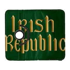 The Irish Republic Flag (1916, 1919 1922) Galaxy S3 (flip/folio) by abbeyz71